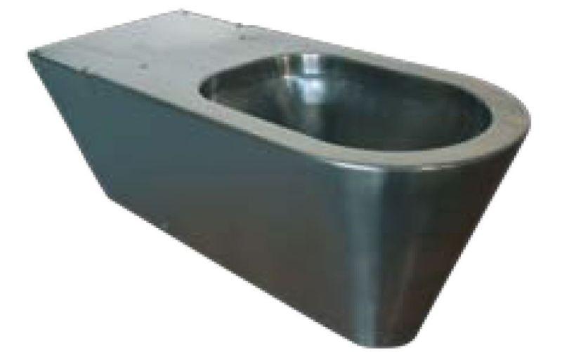 Lx3150 wc disabili sospeso o a pavimento inox 650x340x330 for Satinato significato