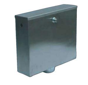 LX3190 Cisterna de empotrar con pulsador 400x112x373 mm SATIN
