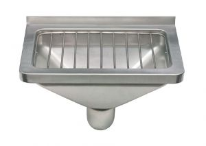 LX1900 Depósito de drenaje con rejilla de acero inoxidable AISI 304 dim. 470x332x185