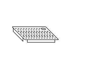AC2017 Falsofondo Forato per Vasche DX 40x50