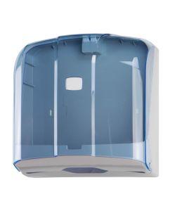 T908121 Towel paper dispenser 300 sheets C,Z fold blue
