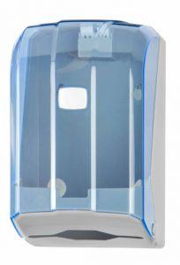 T908125 Distributore carta igienica interfogliata 300 fogli ABS blu