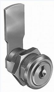 """IN-33A Cylinder lock with key for """"IN"""" series cabinets"""