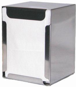 ITP1315 Soporte para servilletas de mesa y mesa - servilletas dobladas 17x17 cm