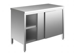EU03200-16 tavolo armadio ECO cm 160x60x85h  piano liscio - porte scorrevoli