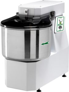18SNT Spiral kneader 18 kg cicle dough 22 liters tank - Three Phase