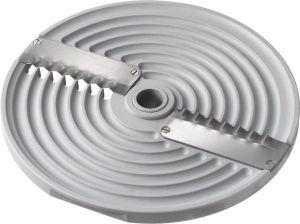 2PZ8 2blades corrugated disk 8mm for Mozzarella shredding cutter TAS