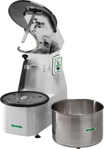 38CNST Spiral kneader Liftable head 38 kg cicle dough 42 liters removable tank - Three Phase