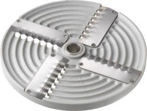 4PZ5 Disque 4 lames ondulees 5mm pour coupe mozzarelle TAS