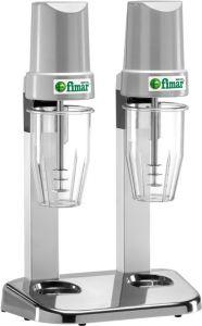 FP2P Frullatore professionale per frappe doppio 2 bicchieri lexan