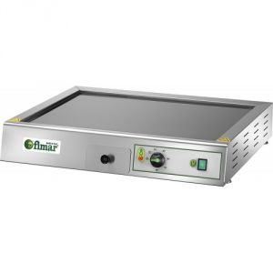 FRY2VCE Electric glass top fry top