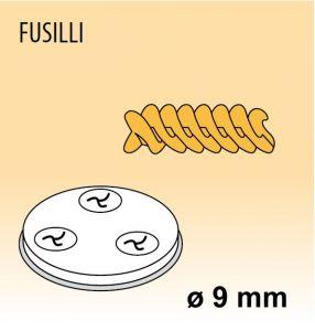 MPFTFU25 Brass bronze alloy nozzles FUSILLI for pasta machine