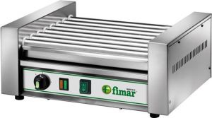RW8 Hot dog and sausage heating and cooking machine with rollers