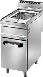 SFM20M Gas fryer on cupboard container 20 liters
