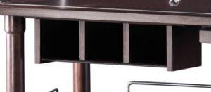 A200W Cajón de bandeja de 3 compartimientos WENGE'