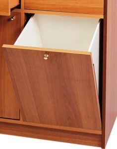 Aplicación de tolva de muebles A250W WENGE '