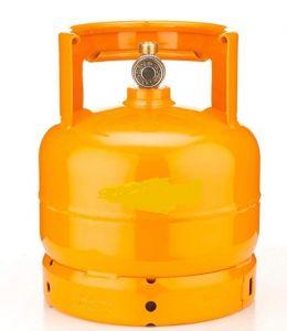 AB2 Gas bottle 2 kg empty for flambè trolleys