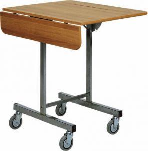 CB970 breakfast cart on wheels