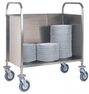 CP1441 Carro para placas apiladas capacidad 200 platos