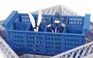 CP8 Pequeño inserto de cesto para cubiertos 8 compartimentos