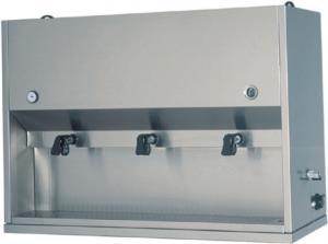 DC1704 Distribuidor de bebidas calientes para desayunos 2 contenedores 15 litros 75x41x71h