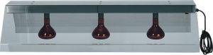 PIA4716 Marco con 3 lámparas infrarrojos suspendida para colgar
