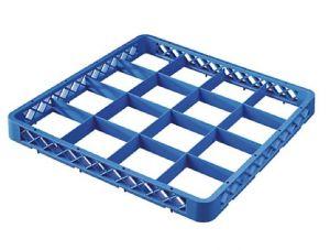 RIA16 Elevacion 16 compartimentos para cesta para lavavajillas 50x50 h4,5 azul