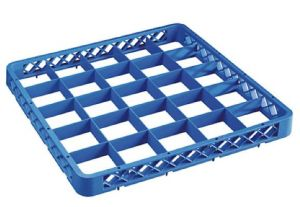 RIA25 Elevation with 25 compartments for dishwasher racks 50x50 h4,5 blue