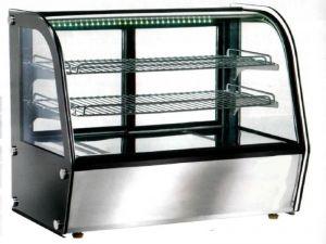 VPH120 Vitrine chauffante à poser ventilée 71x58x67h
