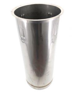 VGPZ-AR Pozzetto in acciao inox AISI 304  per 2 carapine ANTIROTAZIONE