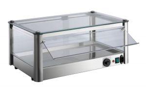 VKB51R Vitrina de mostrador en caliente de 1 piso en chapa de acero inoxidable