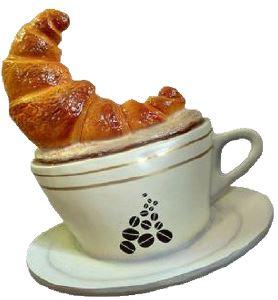 SR054 Cappuccino da Parete - Cappuccino  pubblicitario 3D per gastronomia altezza 120 cm