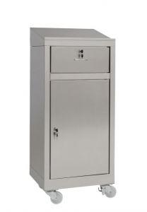 IN-699.03.430C Comptoir armoire avec tiroir en acier AISI 430 - dim. 50x40x115 H