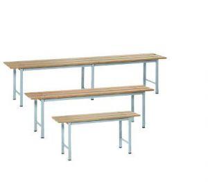 IN-P.4.V Bancs en bois peint - dim. 150x35x45 H