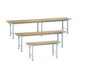 IN-P.5.V Panchine in legno Verniciate - dim. 200x35x45 H