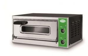 B7T - Horno para pizza INOX 1 PIZZA 50 cm trifásico