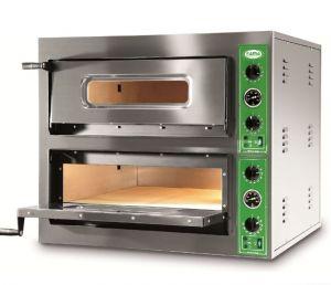 B8 + 8M - Horno de pizza INOX 8 PIZZA 36 cm - Monofásico B8 + 8