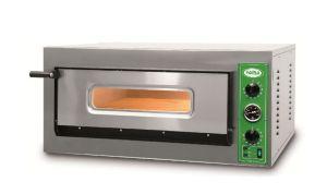 B8T - Horno de pizza INOX 4 PIZZA 36 cm trifásico B8