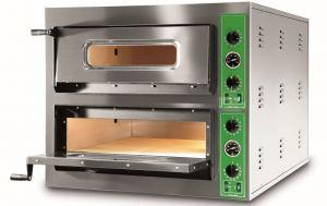 B9 + 9M - Pizza ovens INOX 12 PIZZA 36 cm Single-phase B9 + 9