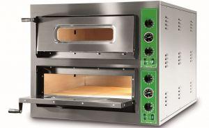 B9 + 9T - Hornos para pizza INOX 12 PIZZA 36 cm trifásico B9 + 9