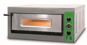 B9M - Hornos para pizza INOX 6 PIZZA 36 cm Monofásico B9