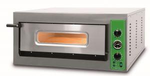 B9T - Hornos para pizza INOX 6 PIZZA 36 cm trifásico B9