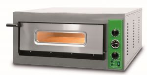 B9T - Pizza ovens INOX 6 PIZZA 36 cm three-phase B9