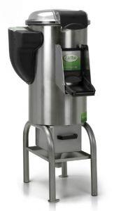 FPC309 - Limpiador de mejillones de 18 kg con base alta, cajón y filtro incluidos - Trifásico
