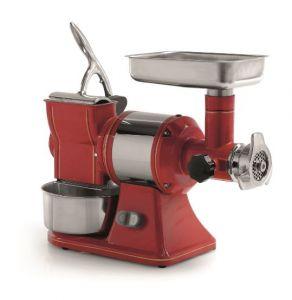 FTGR103 - Picadora ralladora RETRO 'TG12 R STEEL - Monofásica