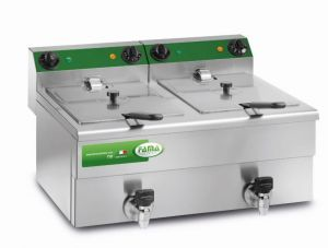 MFR210R - Double LITRI 8 + 8 CR Fryer