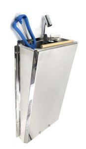 SUPERWASH-SILVER Mezclador profesional para fregadero de acero inoxidable de larga duración SHOWER