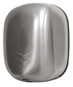 T704512 Hand dryer ZEFIRO PRO UV Brushed stainless steel AISI 304