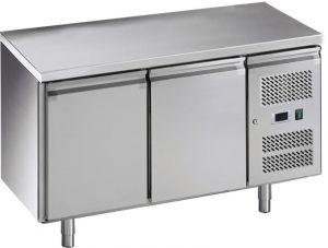 G-GN2100BT-FC Table réfrigérée ventilée, en acier inoxydable AISI201, -18 -22C °