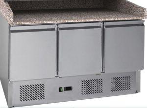 G-S903PZ-FC Banco pizza refrigerato statico con telaio inox AISI201